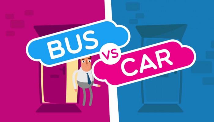 Rent a car vs. transportul în comun