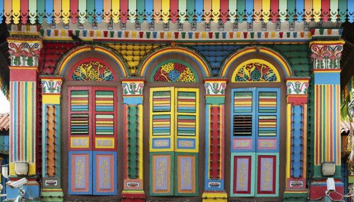 Locuri colorate pe care trebuie să le vizitezi