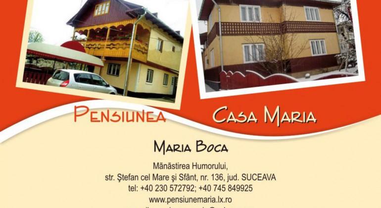 Pensiunea Casa Maria Manastirea Humorului