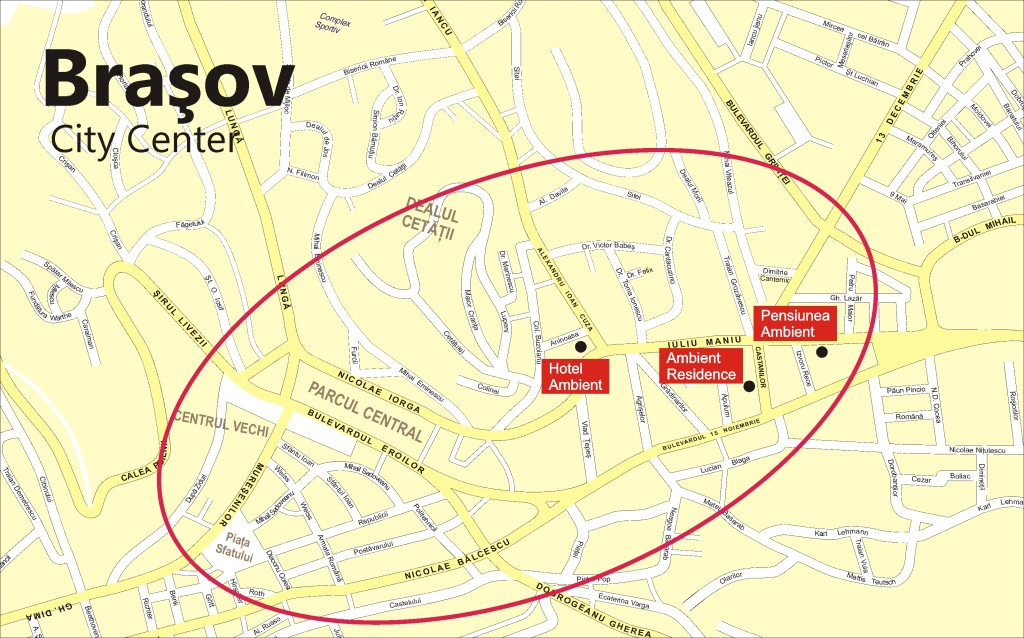 Apartament Regim Hotelier Residence Ambient Brasov